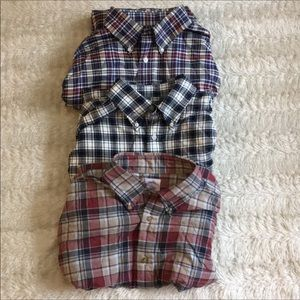 Brooks Brothers Large Bundle 3 button up flannel